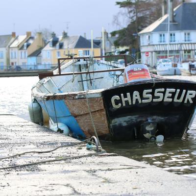 Isigny sur Mer le Port février 2020